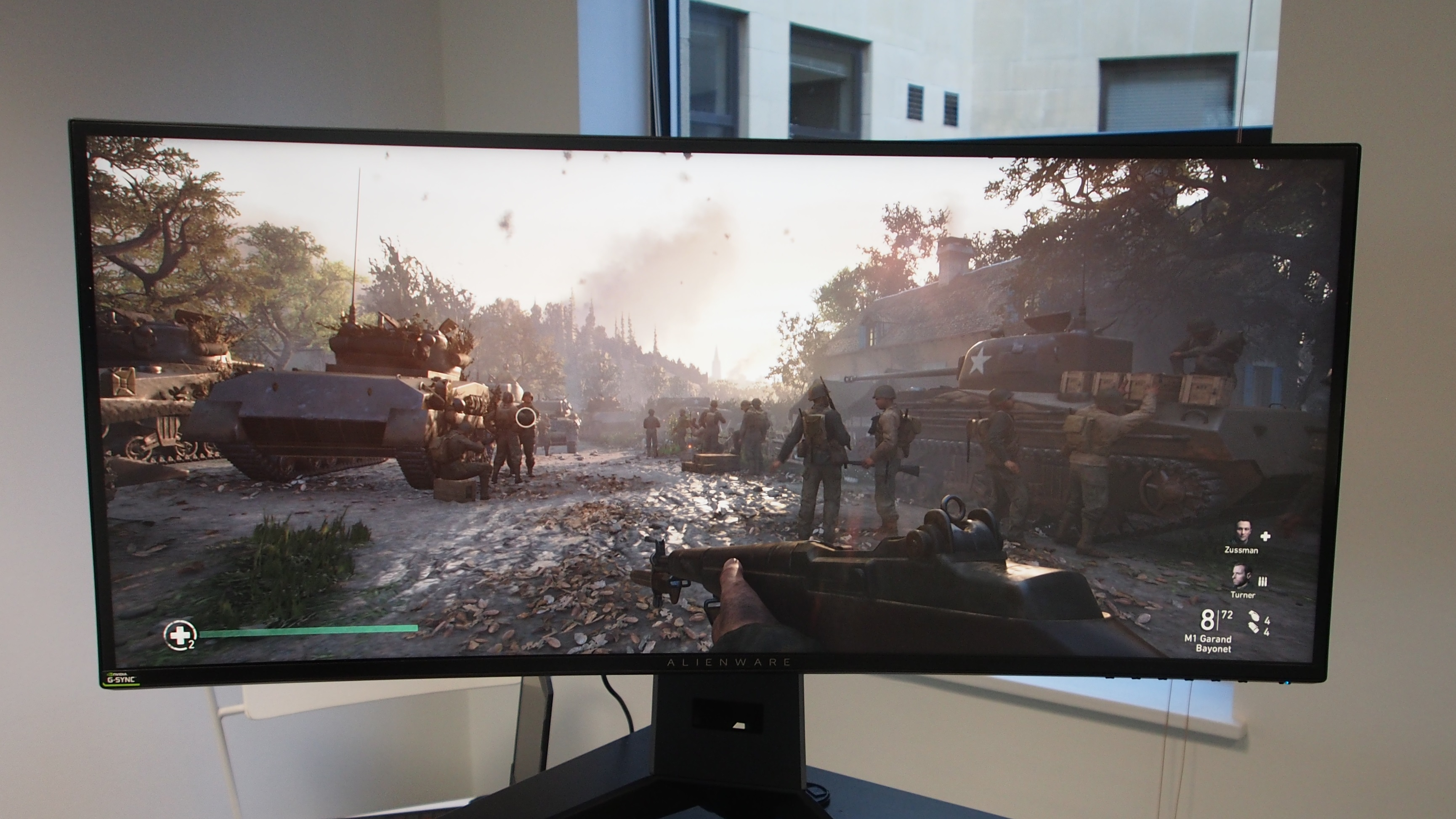 Alienware AW3418DW performance