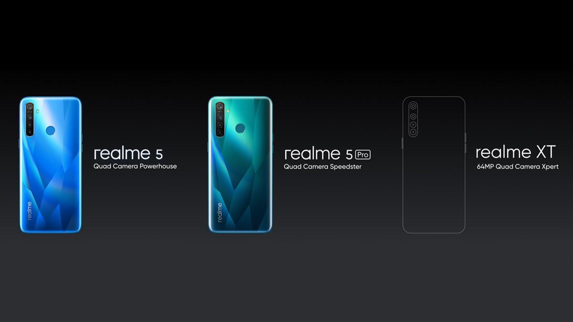 Realme XT, company's 64MP quad-camera beast confirmed
