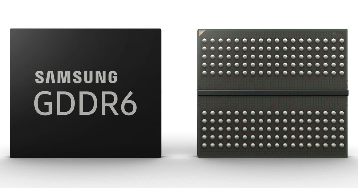 Samsung is cranking out GDDR6 memory for next-generation graphics cards