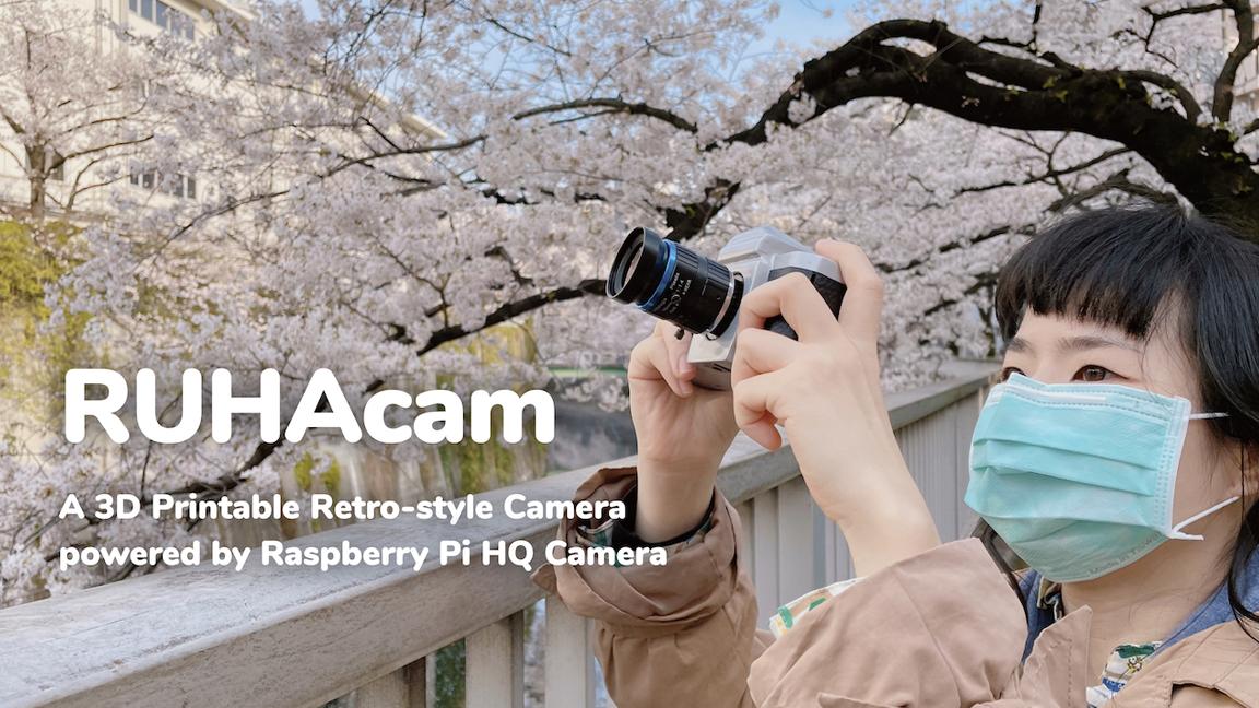Meet RuhaCam, a Raspberry Pi 3D-Printed Open Source Camera