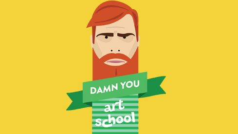 picture of damn you art school