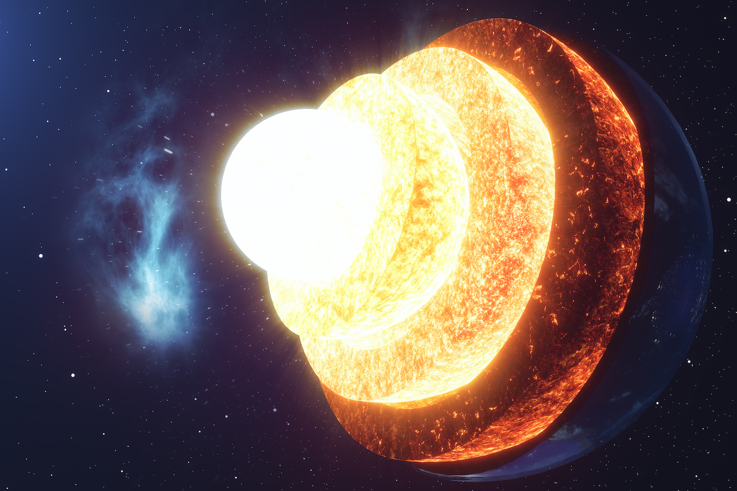 Earth's core is growing 'lopsided' and scientists don't know why thumbnail