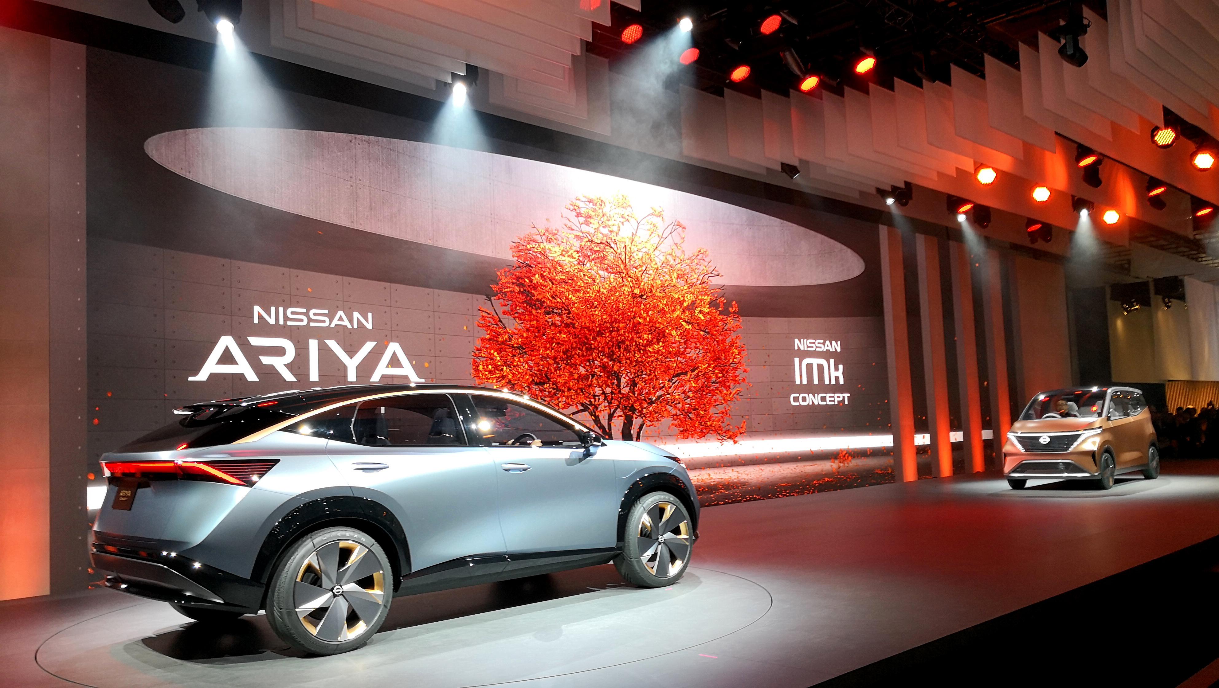 Nissan Ariya and IMk