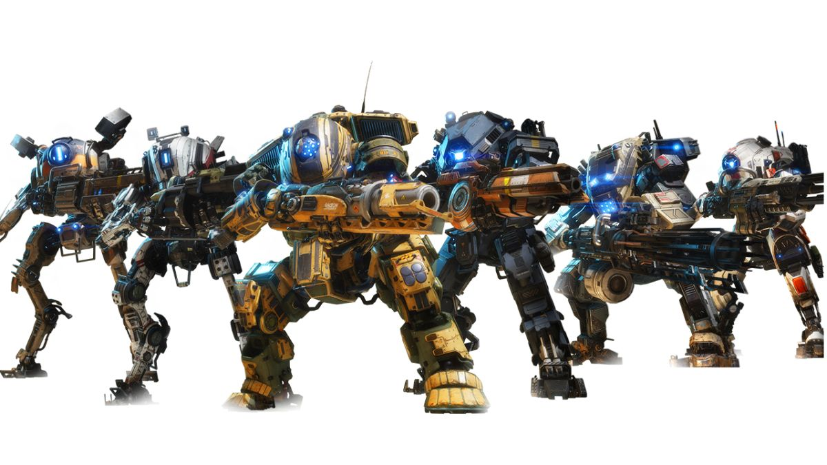 check out all 6 titanfall 2 titans and pick a fave