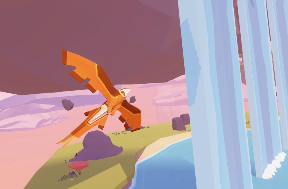 Turn into a bird and explore a shattered world in this immaculate puzzle game