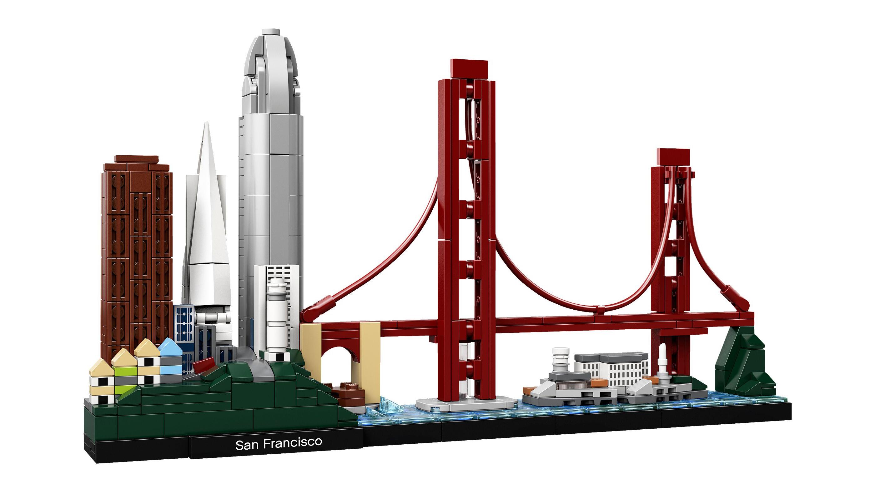 Best Lego Architecture sets: San Francisco