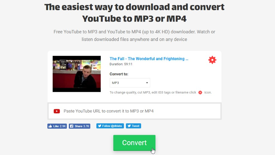 The best online YouTube downloader