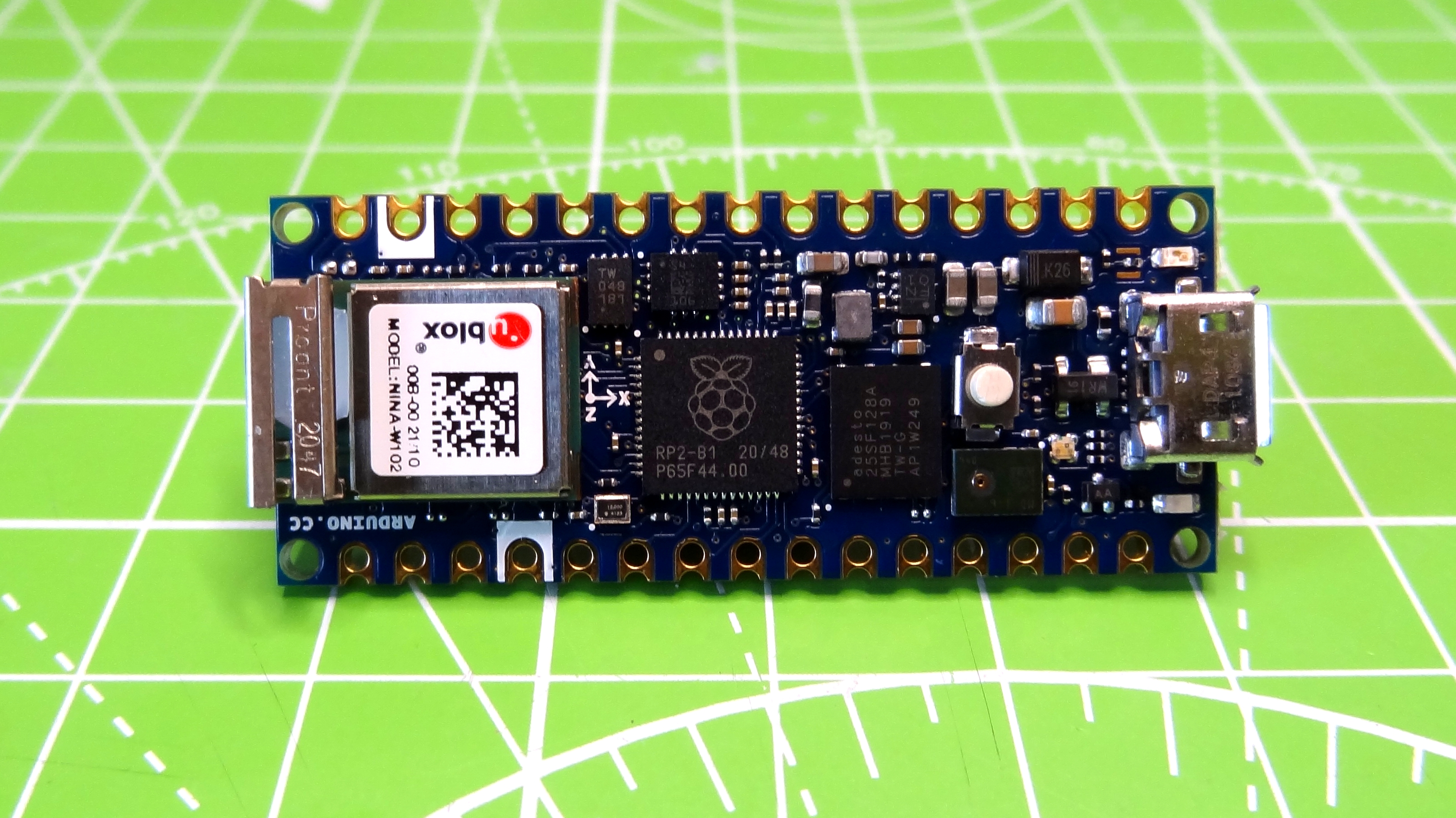 Arduino Nano RP2040 Connect Review: Built-in Wi-Fi and BLE