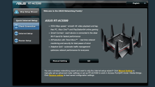 how to add vp to asus 5300 router settings
