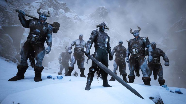 Conan Exiles to add 'frozen highlands' biome in free August update