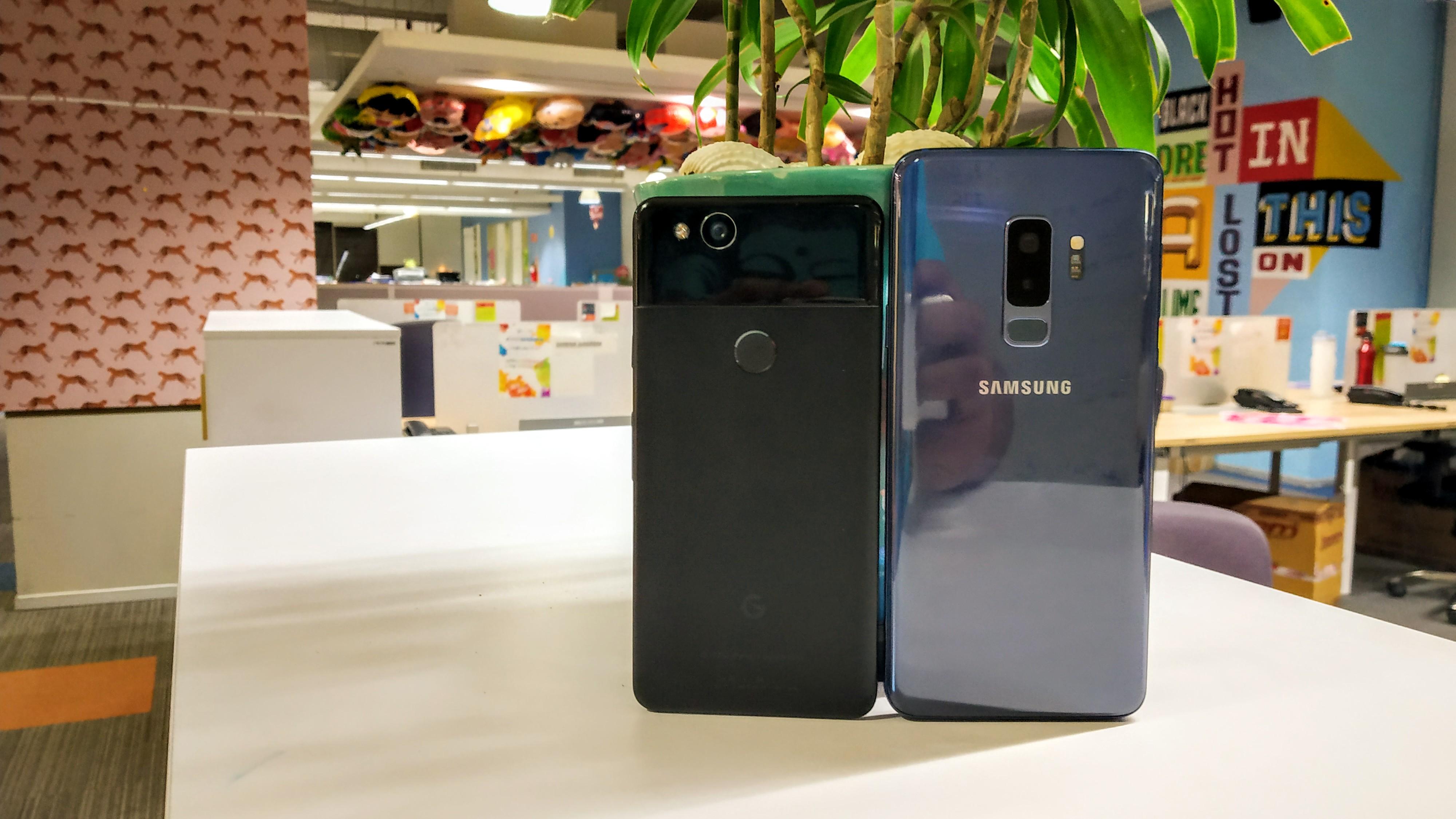 Camera Comparison: Samsung Galaxy S9 Plus vs Google Pixel 2
