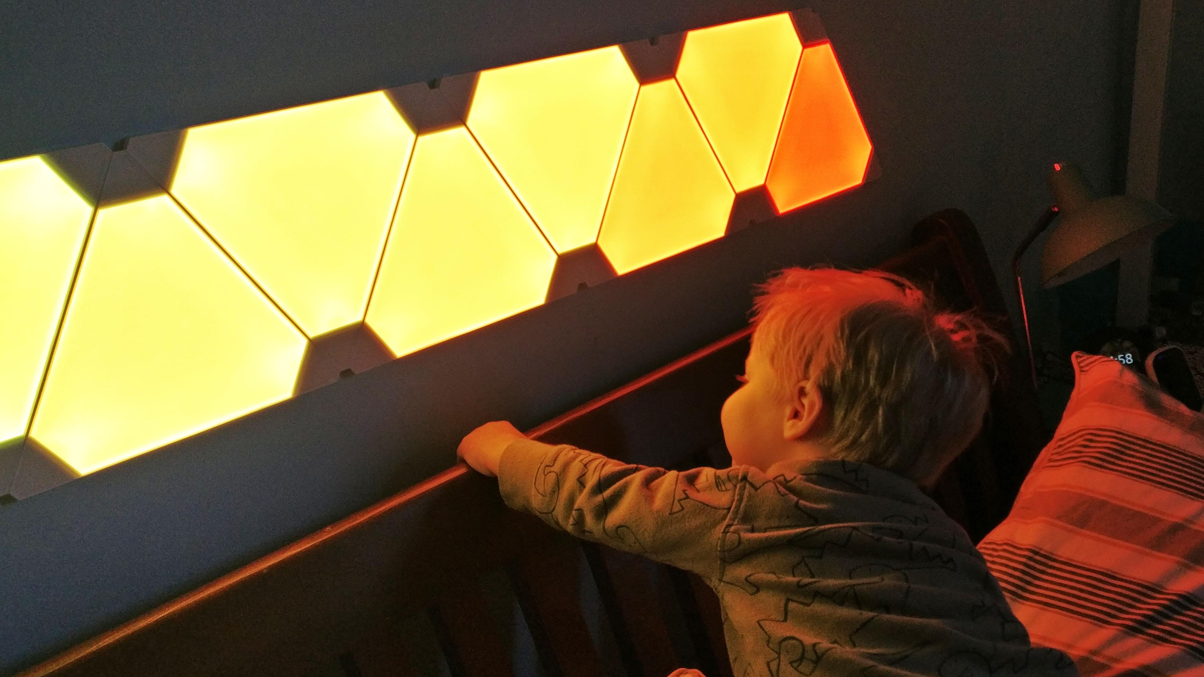 Paneles de luz Nanoleaf