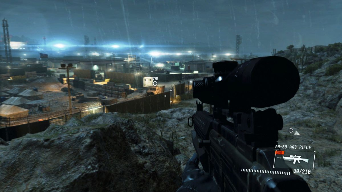 Using mods to play Metal Gear Solid 5: Ground Zeroes as a military FPS
