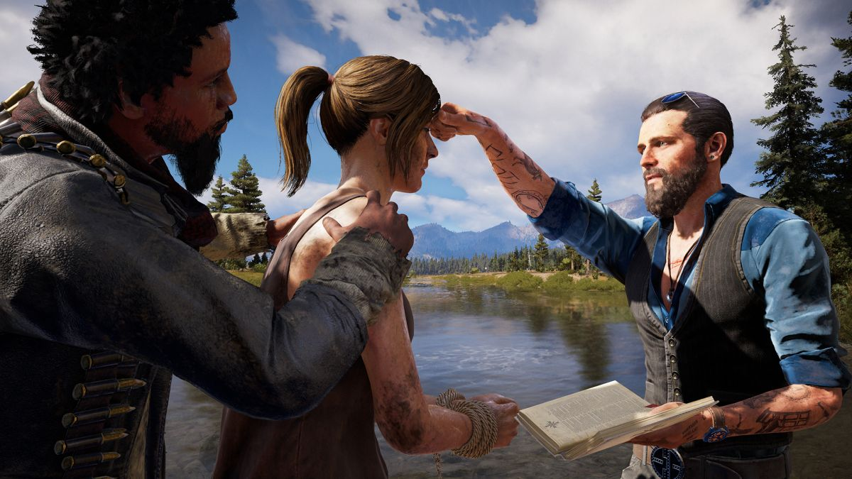 Red, white, blue and gray: digging into the world of Far Cry 5 with its lead writer