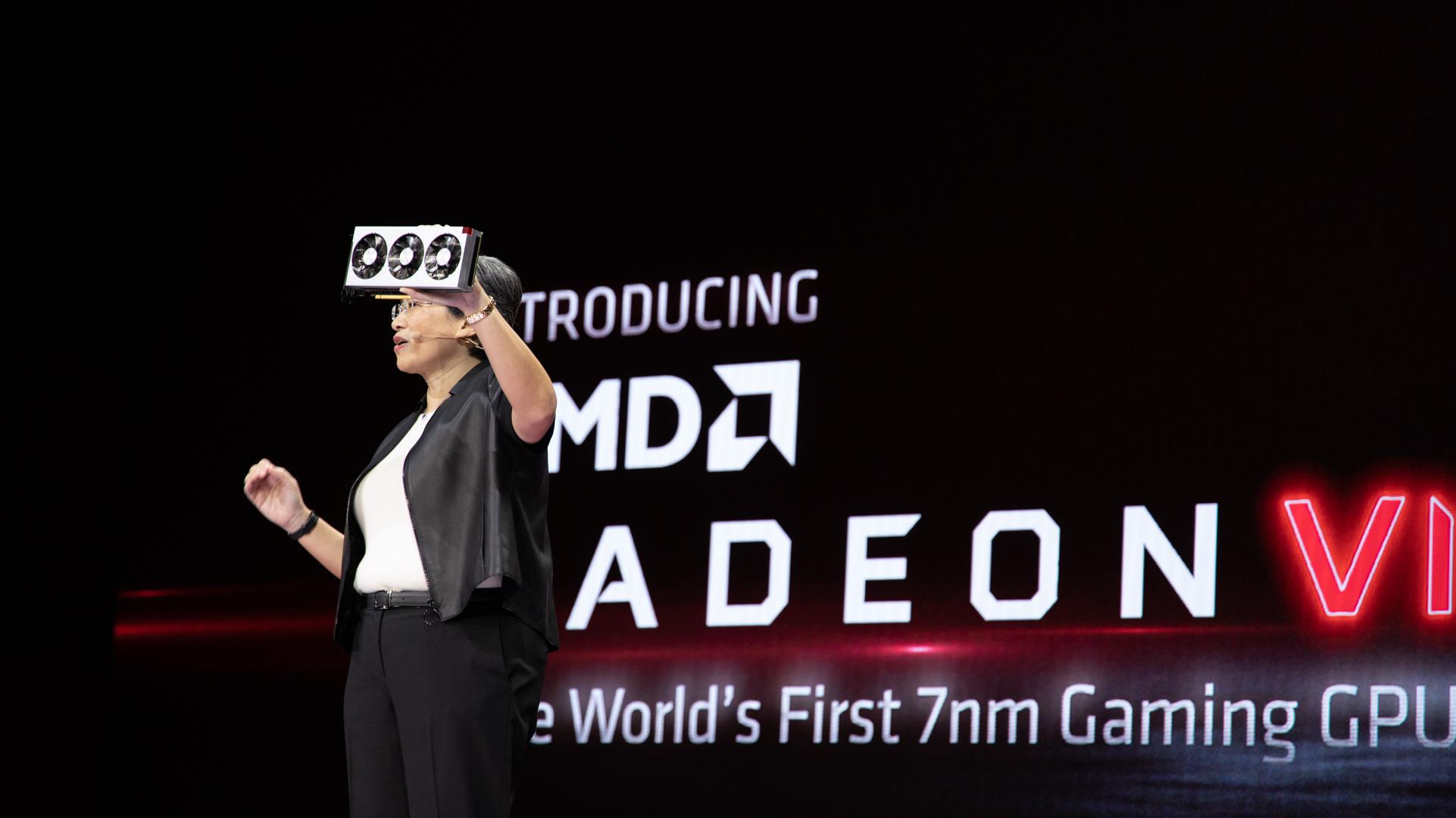 AMD debuts 7nm Radeon VII graphics card to combat Nvidia RTX