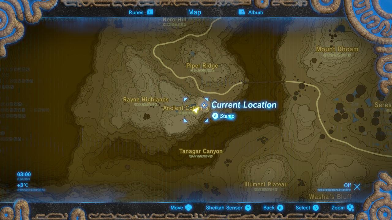 Zelda Botw Shrine Map >> The Legend of Zelda: Breath of the Wild Captured Memories locations guide: Memory #3: Ancient ...
