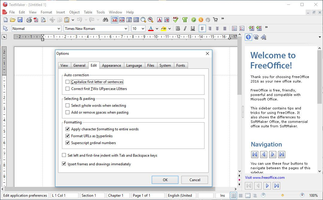 Softmaker freeoffice review and where to download techradar - Free office suite for windows ...