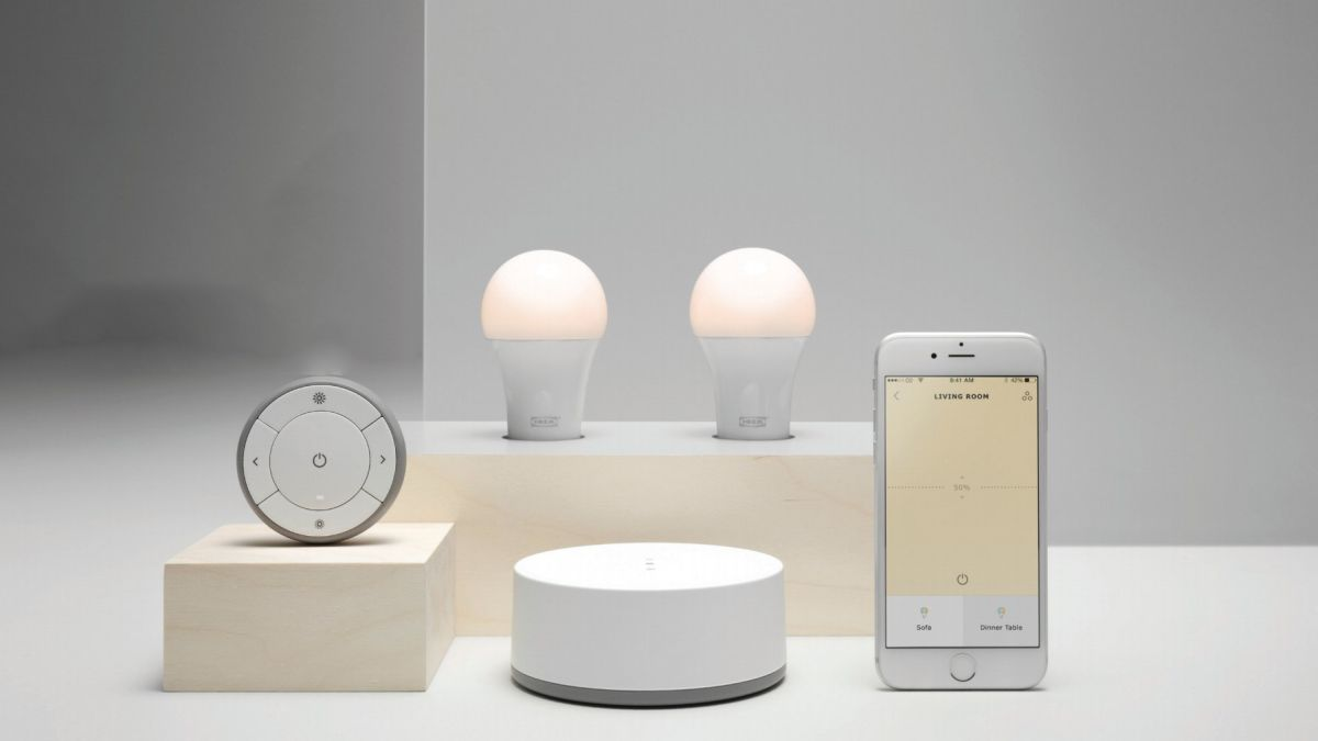 ikea s smart lights will support apple homekit google. Black Bedroom Furniture Sets. Home Design Ideas