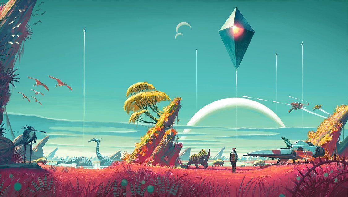 No Man's Sky - Melhores maneiras de encontrar planetas para explorar
