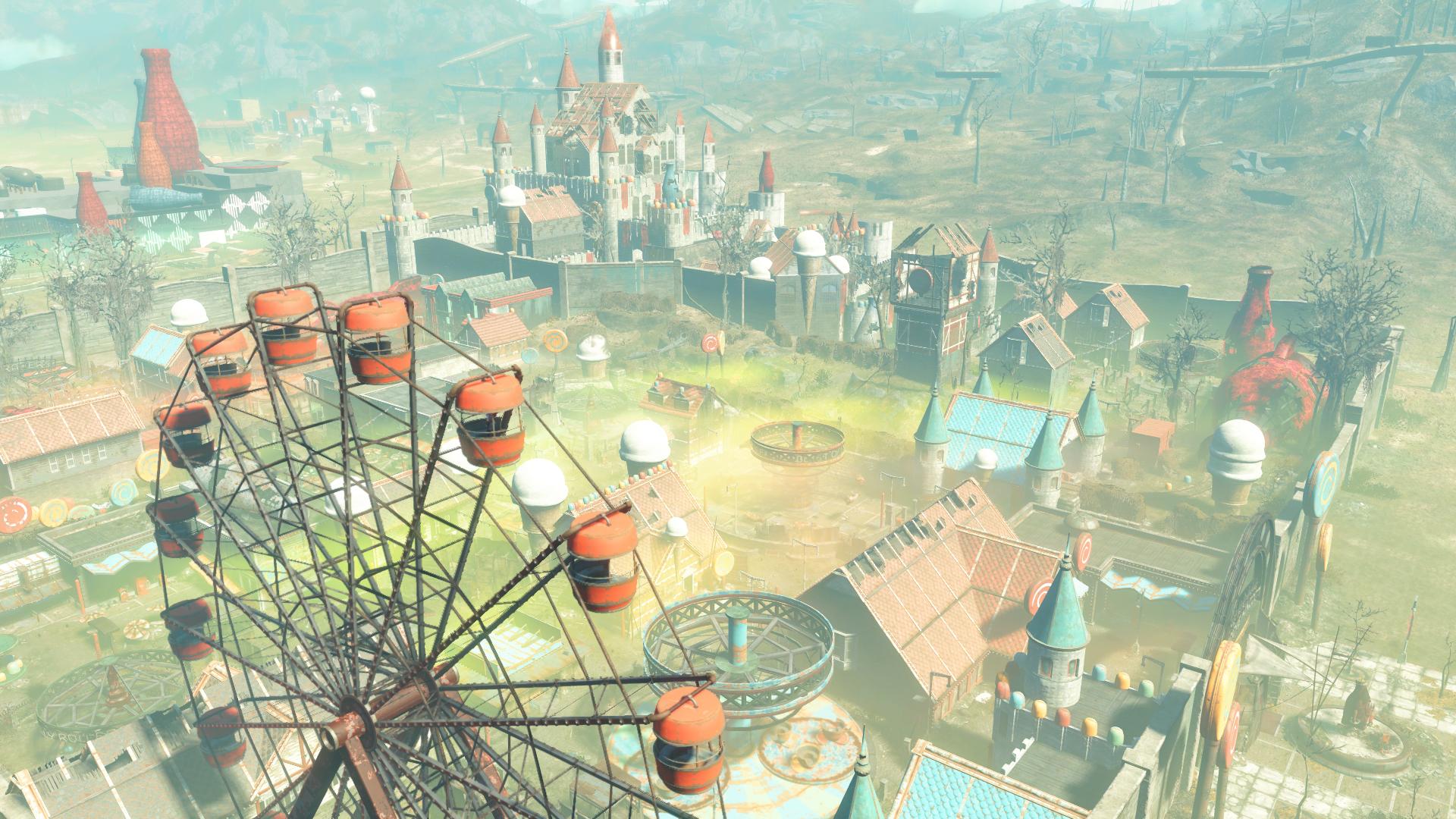 Fallout 4 nuka world видео