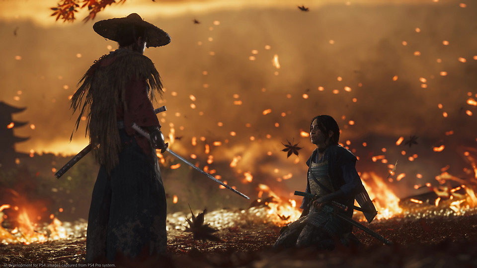 Ghost of Tsushima dev says you can play for 'five days straight' without seeing the ending