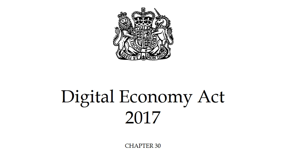 The Digital Economy Act 2017 provides the legislation for the UK porn block