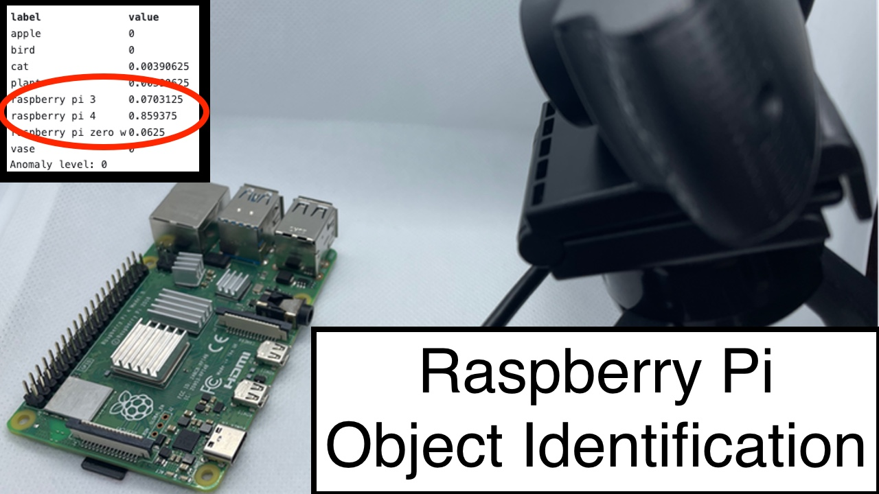 How to Build a Raspberry Pi Object Identification Machine