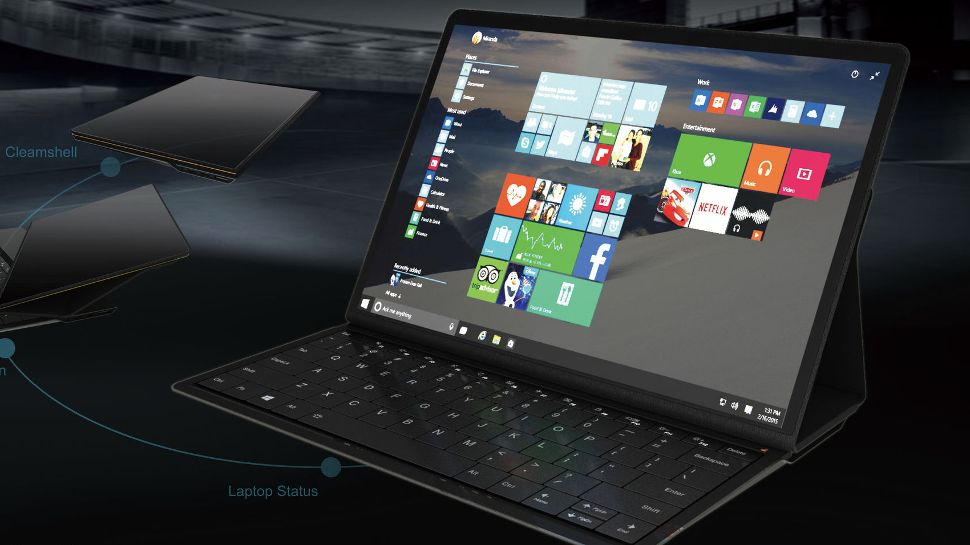 lenovo blade is a sharp 2in1 laptop we might see come