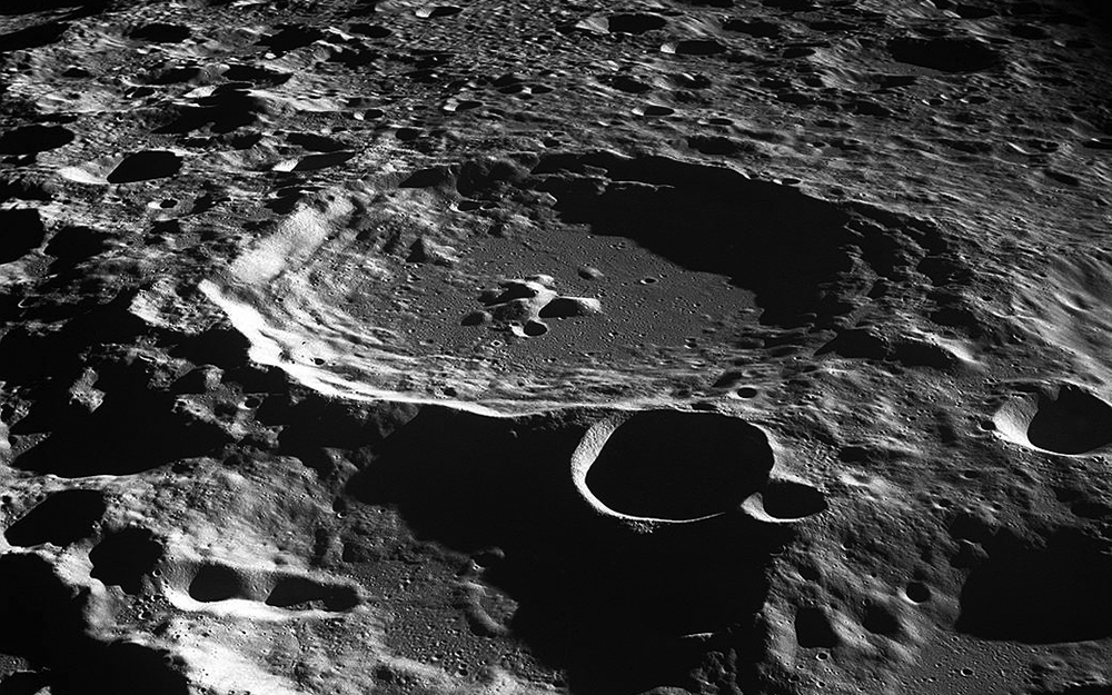 The Moon's Surface Is Totally Cracked