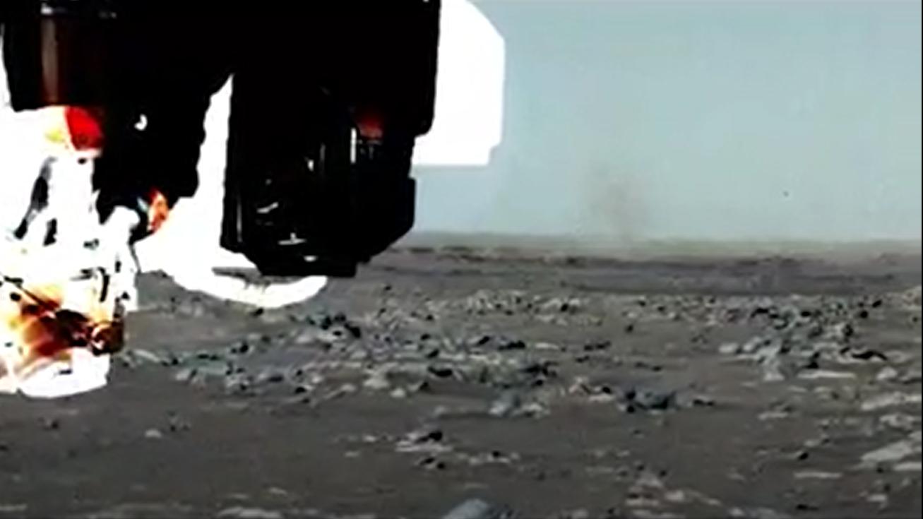<p>Perseverance rover spots its dust devil on Mars thumbnail