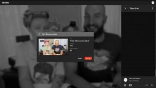 Live streaming to YouTube from a browser