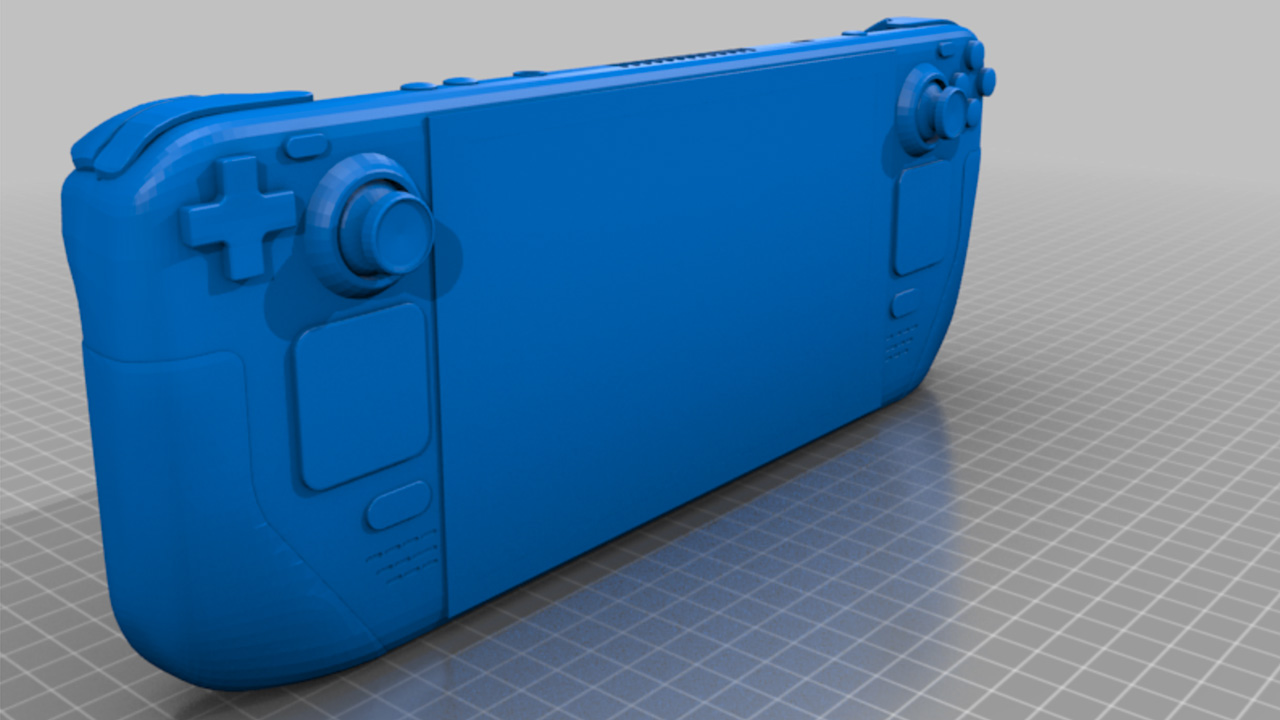 YouTuber 3D Prints Steam Deck, Compares With Other Handhelds