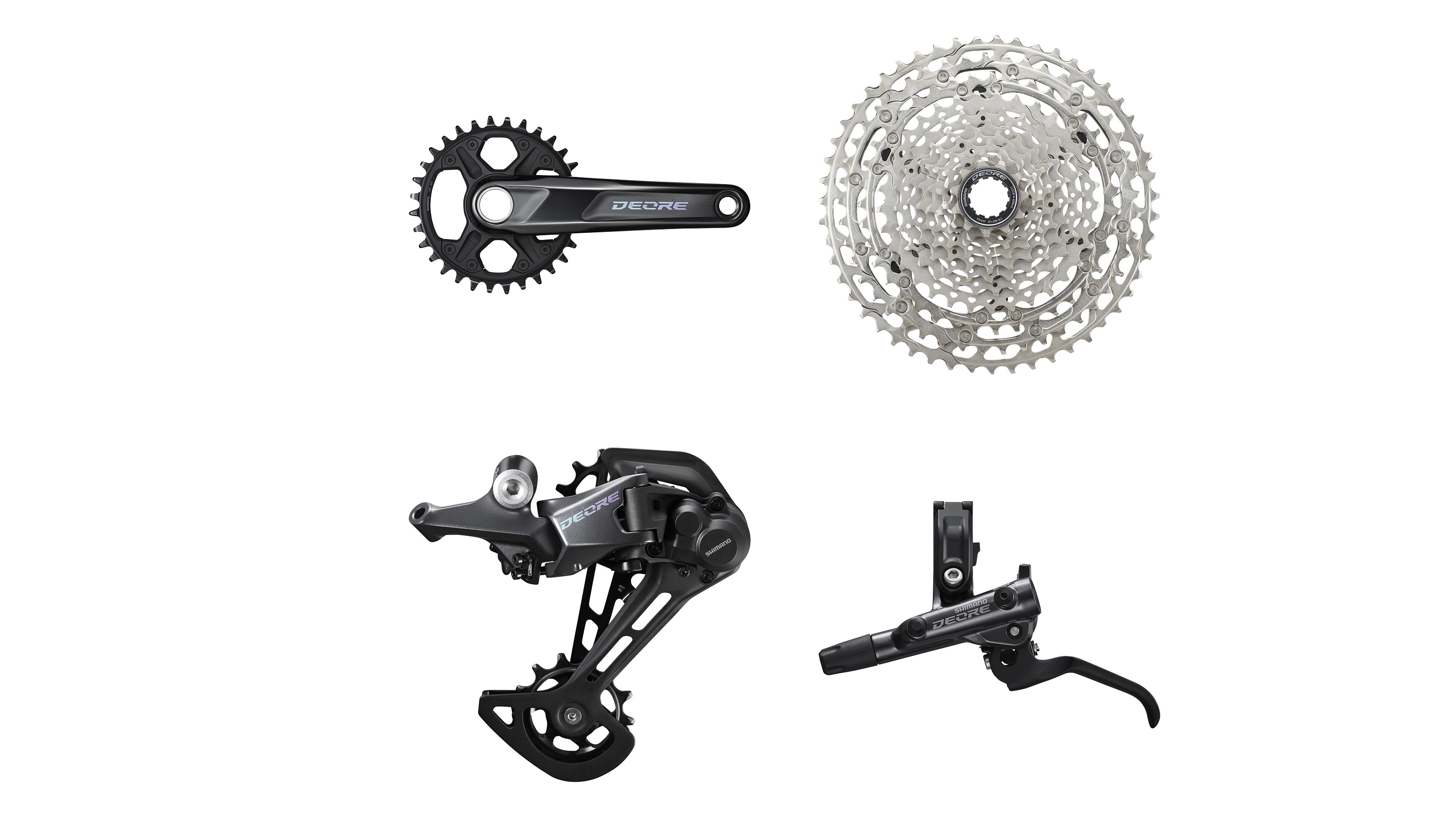 Shimano Deore gains 12 gears and better brakes