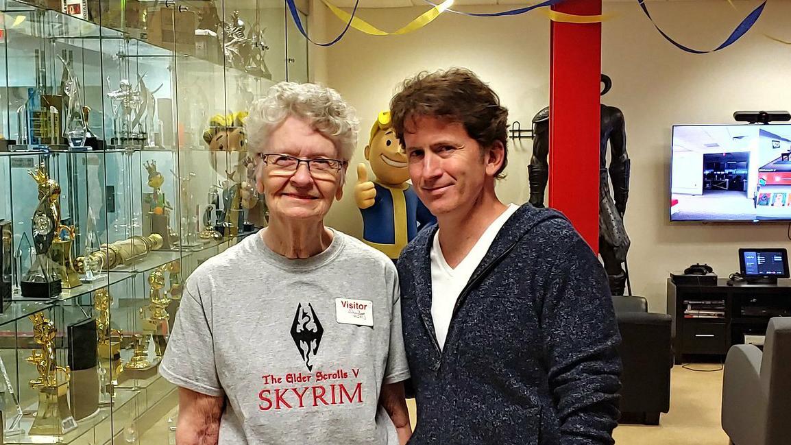 Skyrim Grandma
