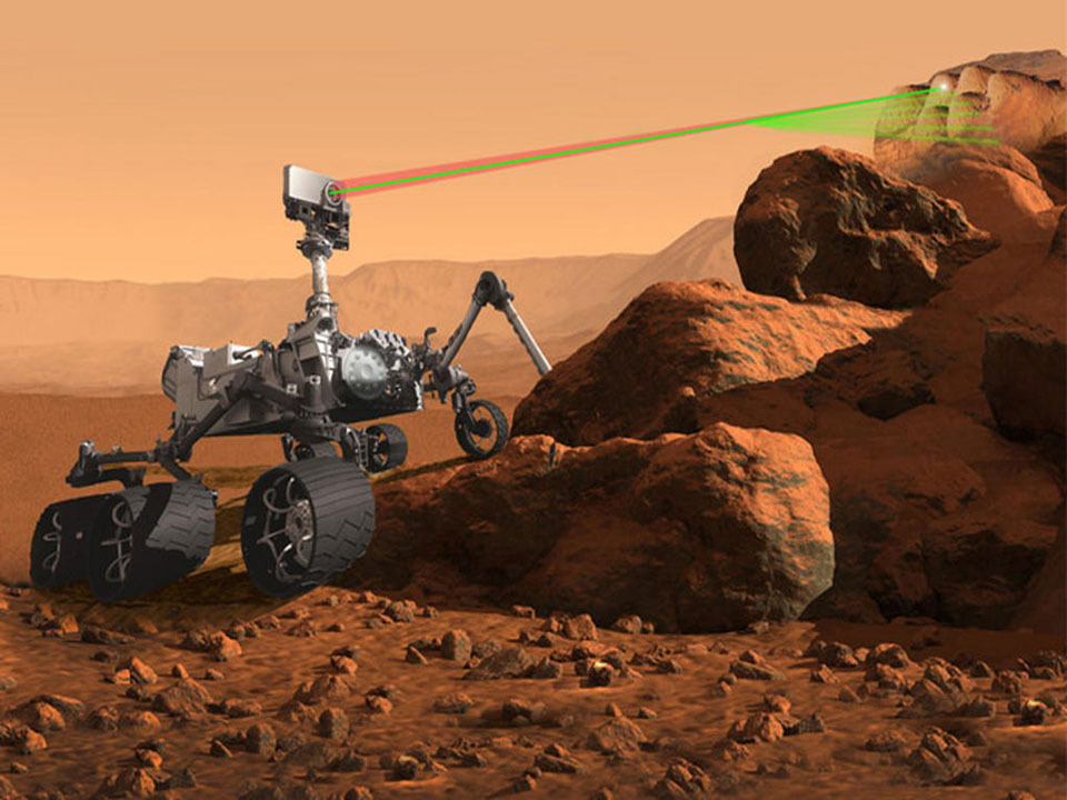 The Perseverance rover has recorded the 1st laser sound on Mars. It's a 'snap!' not a 'pew!' thumbnail