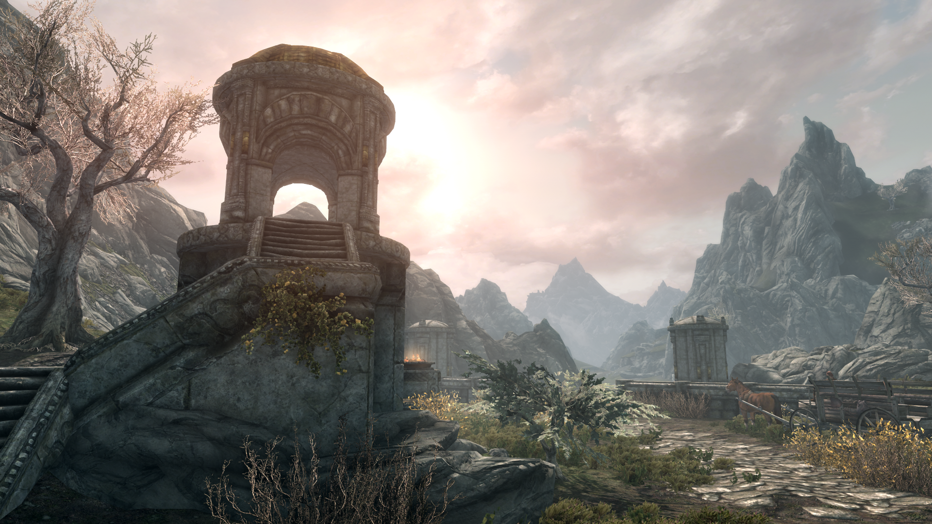 Skyrim Special Edition settings, comparison shots, and performance