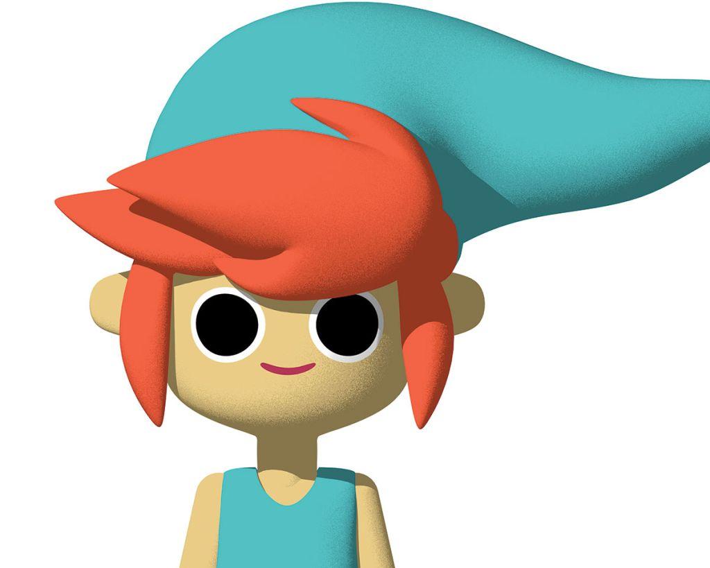 Cinema 4D tutorials: Cartoon character