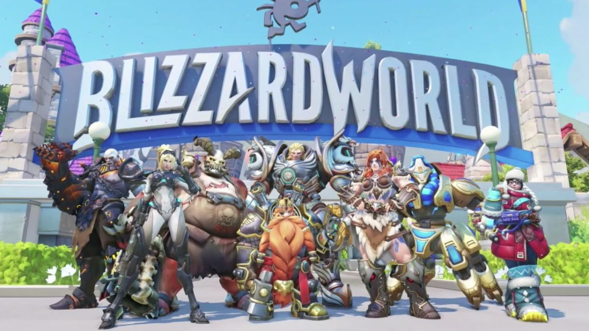 Overwatch is getting a map set in a (sadly fictional) Blizzard World theme park on January 23