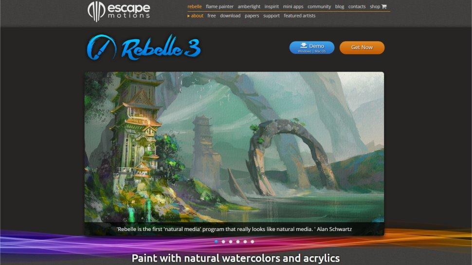 Rebelle 3 - An expert-developed art tool