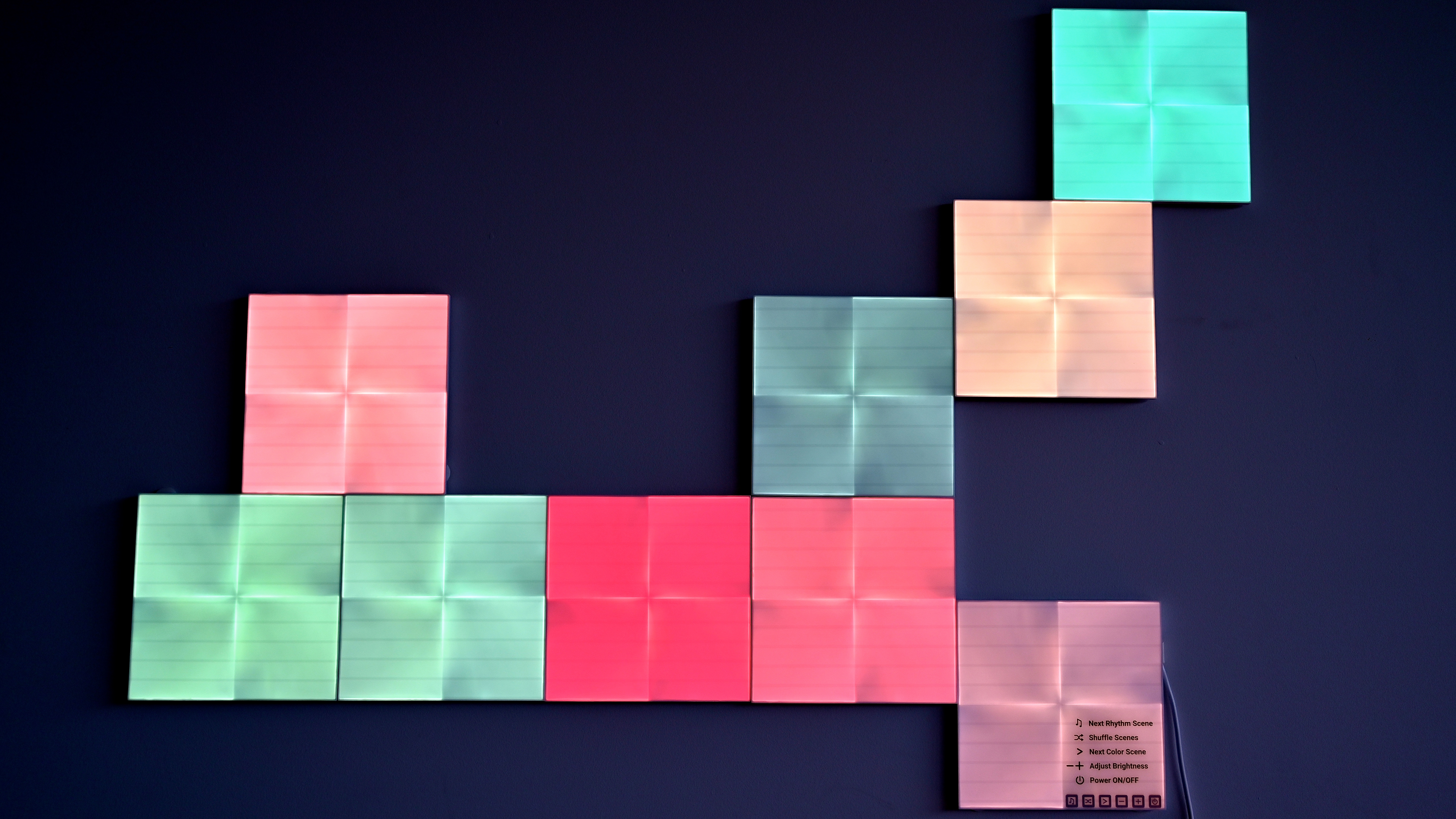 Nanoleaf Canvas Setup Review Youtube