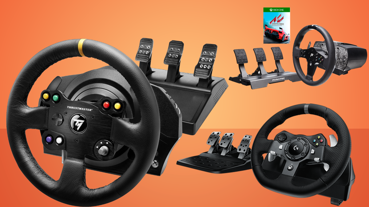 the best racing wheel gamesradar. Black Bedroom Furniture Sets. Home Design Ideas