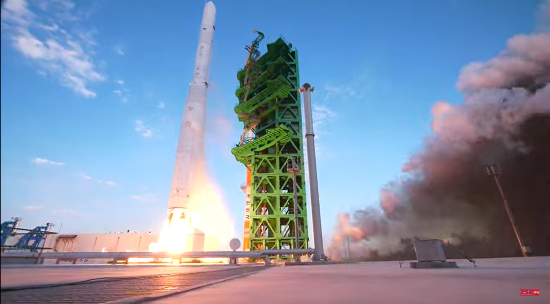 South Korea's 1st Nuri rocket fails to reach orbit in debut launch test