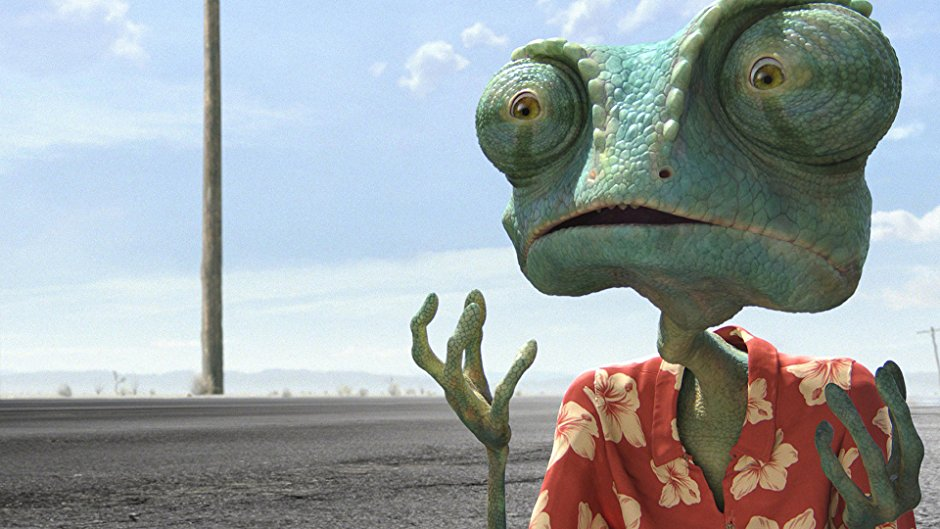 A still from the movie Rango