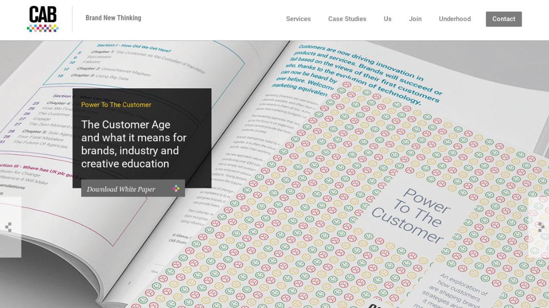 CAB Studios homepage