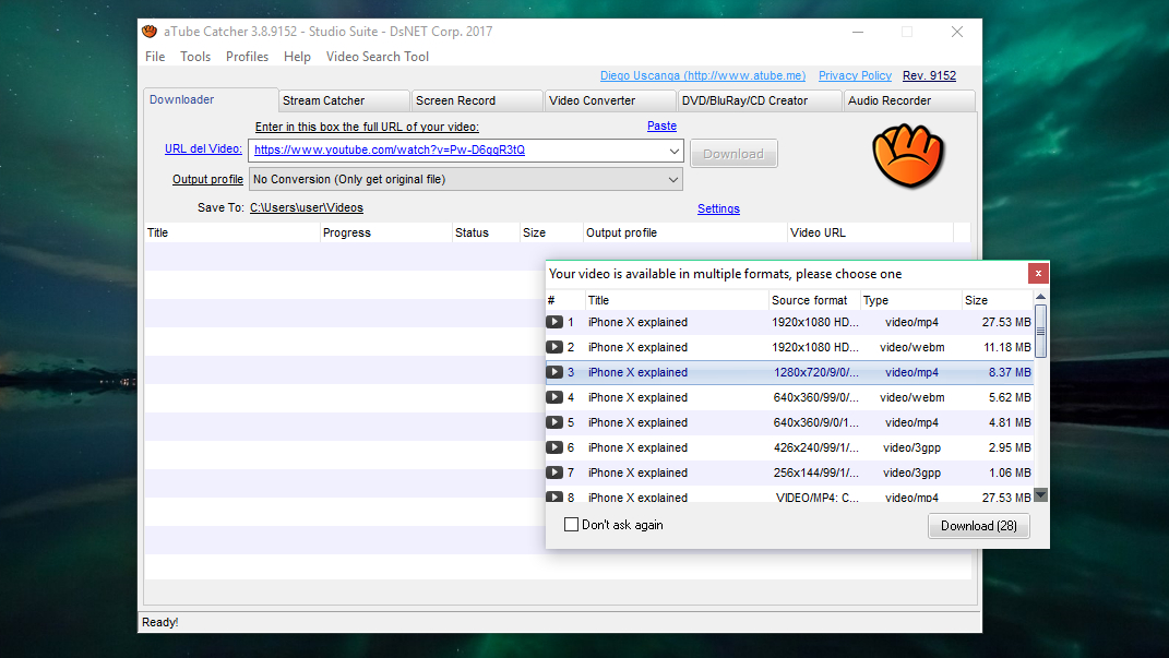 Free YouTube to MP3 Converters - aTube convertor