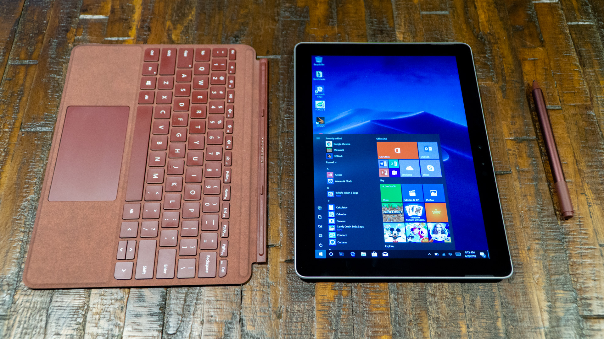 Best tablets with keyboards: Surface Go