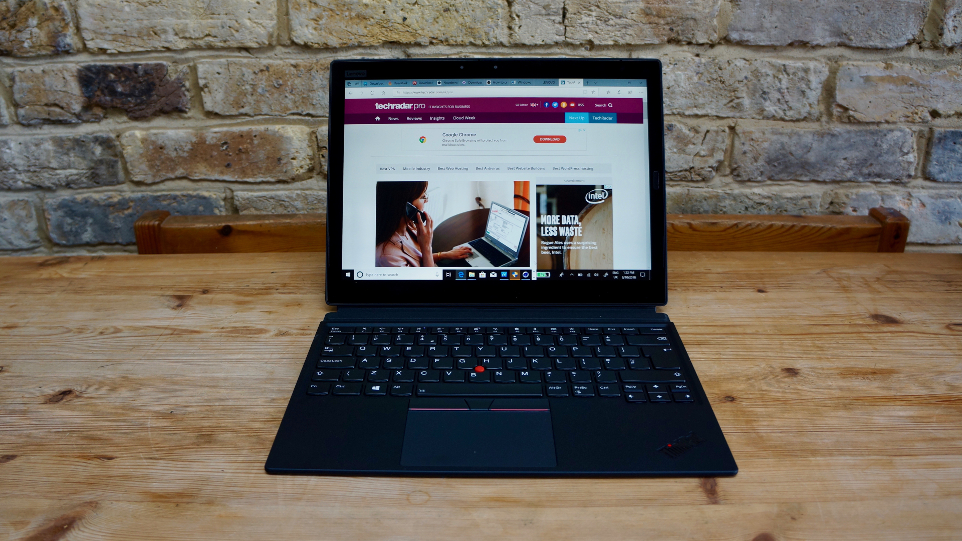 Best tablets with keyboards: Lenovo ThinkPad X1 Tablet (3rd Gen)