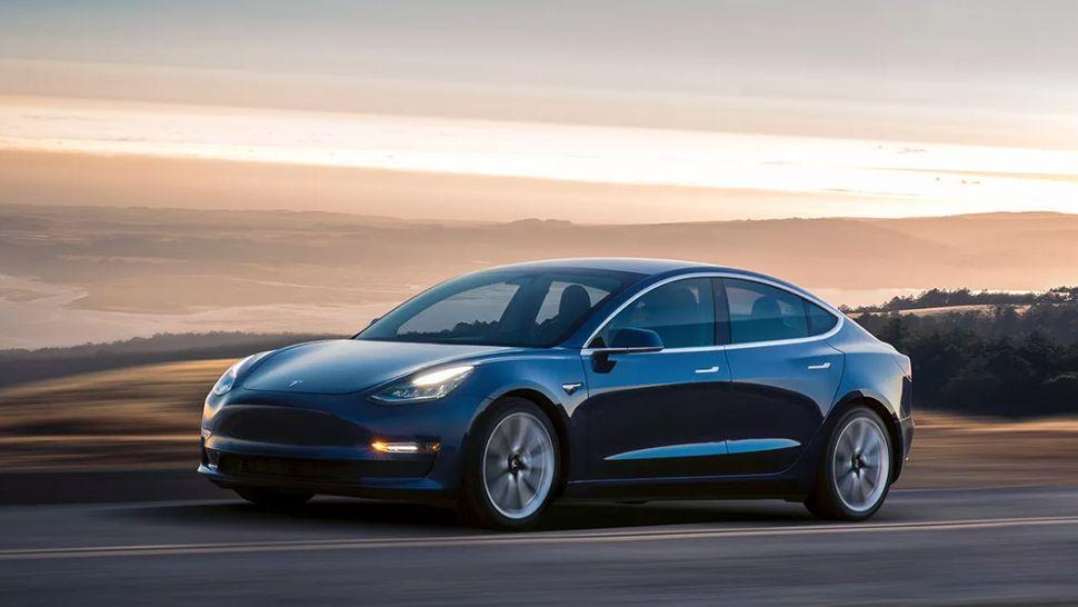 The Tesla Model 3 key fob looks just like a Tesla Model 3
