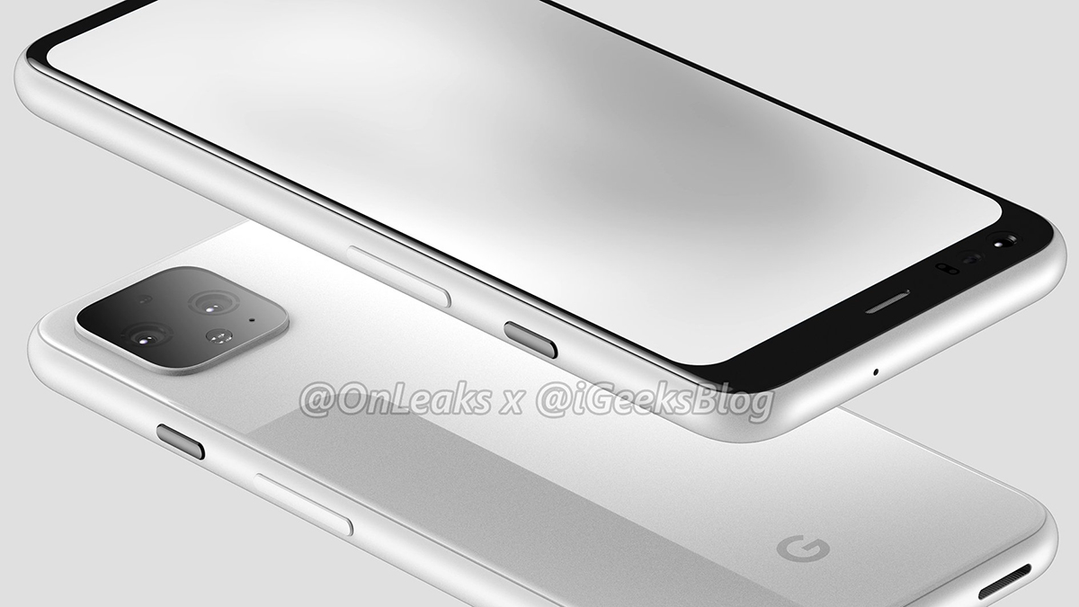 xsdASYjKV7GWvWhjt5DkBk - Major Google Pixel 4 leaks show off front-facing bezel and sensors