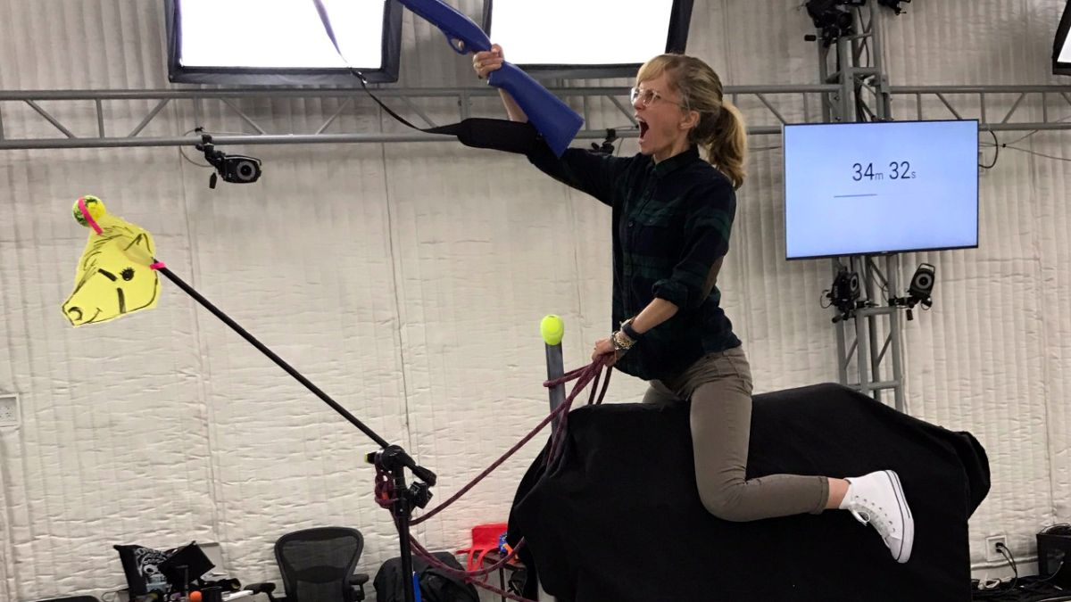 Take a look at The Last of Us 2 coming together with machete-twirling chaos and mocap horses